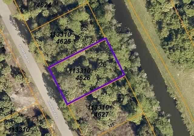 Littlefield Lane, North Port, FL 34288 (MLS #C7442061) :: Armel Real Estate