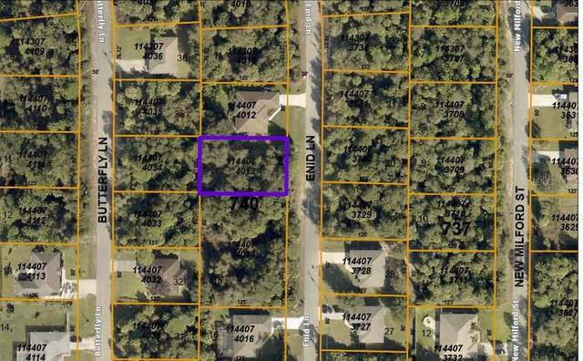 Lot 13 Enid Lane, North Port, FL 34288 (MLS #C7442335) :: RE/MAX Local Expert