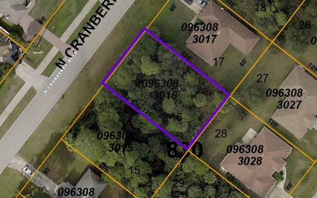 Lot 16 Cranberry Boulevard, North Port, FL 34286 (MLS #C7442583) :: Armel Real Estate