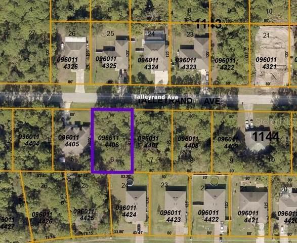 Talleyrand Avenue, North Port, FL 34286 (MLS #C7442756) :: Southern Associates Realty LLC