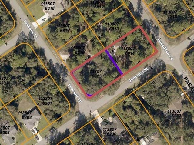 LOTS 14 & 15 Junction Street, North Port, FL 34288 (MLS #C7443325) :: Southern Associates Realty LLC