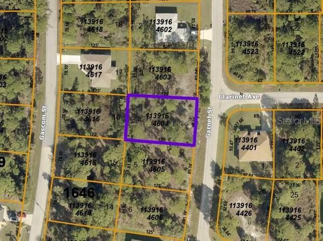Garnet Street, North Port, FL 34288 (MLS #C7443693) :: Rabell Realty Group