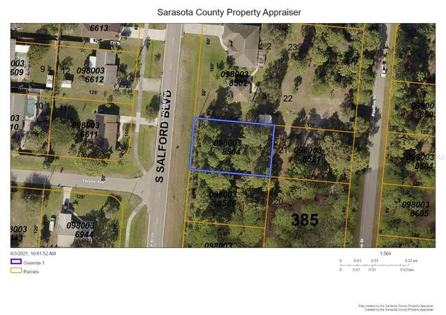S Salford Boulevard, North Port, FL 34287 (MLS #C7443982) :: The Paxton Group