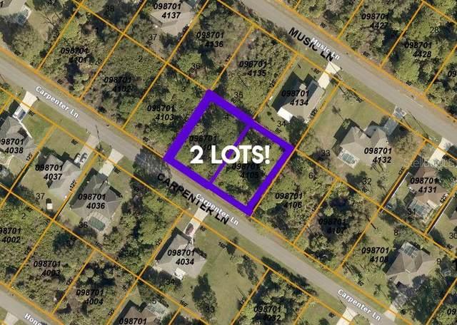 LOTS 4 & 5 Carpenter Lane, North Port, FL 34286 (MLS #C7444415) :: Team Pepka