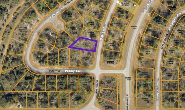 Mattox Circle, North Port, FL 34288 (MLS #C7444735) :: Coldwell Banker Vanguard Realty