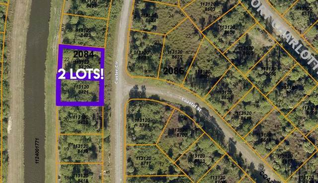 Lots 21 & 22 Custer Circle, North Port, FL 34288 (MLS #C7445128) :: Griffin Group