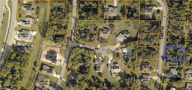Libby Road, North Port, FL 34287 (MLS #C7445484) :: Sarasota Gulf Coast Realtors