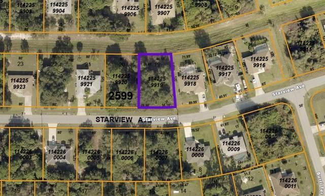 Starview Avenue, North Port, FL 34288 (MLS #C7445656) :: Zarghami Group