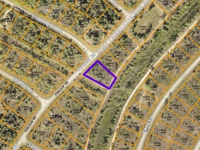 Fiveleaf Road, North Port, FL 34288 (MLS #C7447210) :: GO Realty