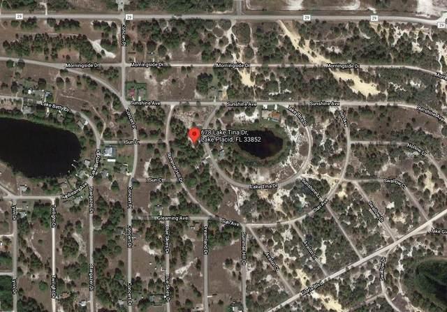 678 Lake Tina Drive, Lake Placid, FL 33852 (MLS #C7447673) :: Team Turner