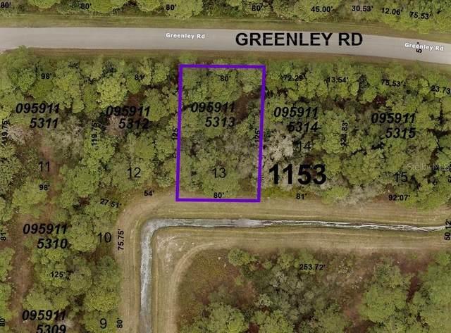 Greenley Road, North Port, FL 34286 (MLS #C7448021) :: Zarghami Group