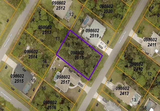 Cascabel Terrace, North Port, FL 34286 (MLS #C7448908) :: Sarasota Gulf Coast Realtors