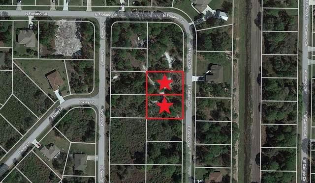 Lot 8 & 9 Forlano Circle, North Port, FL 34291 (MLS #C7449467) :: Everlane Realty