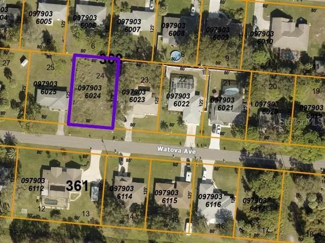 Watova Avenue, North Port, FL 34286 (MLS #C7449506) :: Everlane Realty