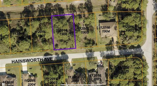 Hainsworth Avenue, North Port, FL 34288 (MLS #C7449940) :: Delgado Home Team at Keller Williams