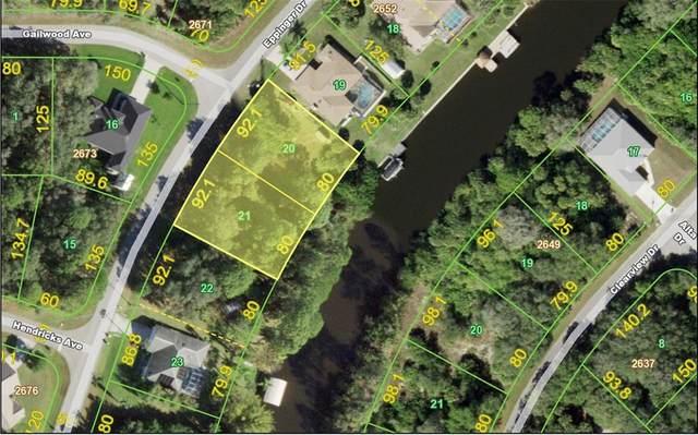 1292 Eppinger Drive - Lot 20, Port Charlotte, FL 33953 (MLS #C7450229) :: Bustamante Real Estate