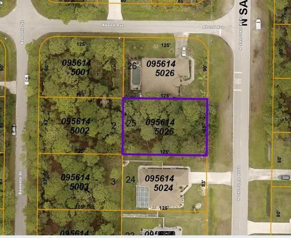 N Salford Boulevard, North Port, FL 34286 (MLS #C7450261) :: Griffin Group