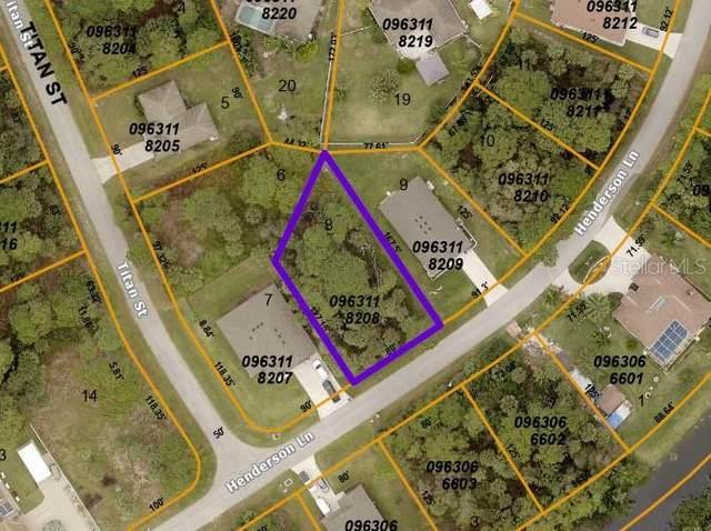 Henderson Lane, North Port, FL 34286 (MLS #C7450435) :: Sarasota Home Specialists