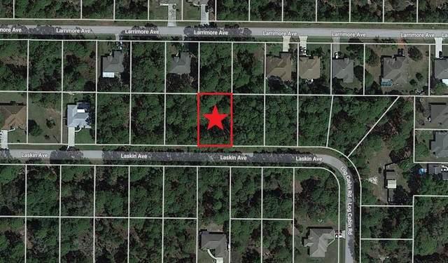 Lot 10 Laskin Avenue, North Port, FL 34291 (MLS #C7450464) :: Keller Williams Realty Peace River Partners