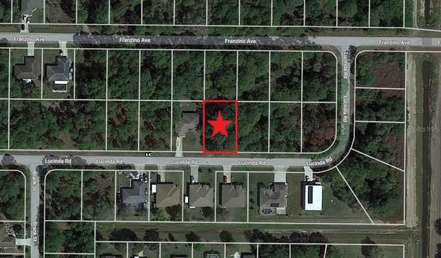Lot 16 Lucinda Road, North Port, FL 34291 (MLS #C7450593) :: Sarasota Property Group at NextHome Excellence