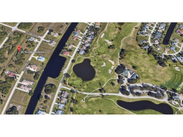281 Boundary Boulevard, Rotonda West, FL 33947 (MLS #D5919154) :: Medway Realty