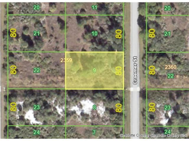 295 Craemer (Lot 9) Street, Port Charlotte, FL 33953 (MLS #D5919184) :: Medway Realty