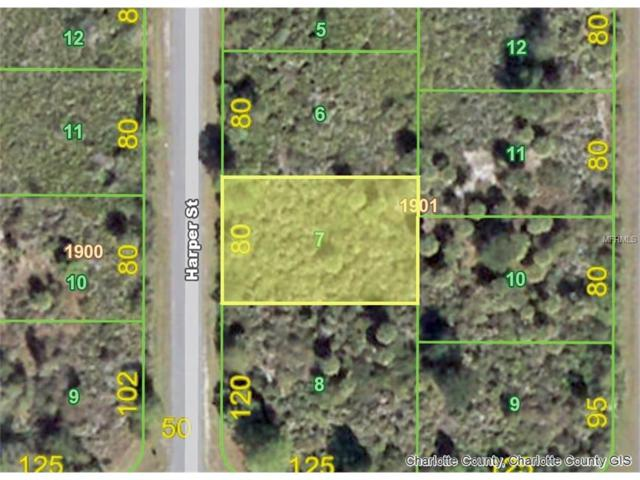 4396 Harper (Lot 7) Street, Port Charlotte, FL 33981 (MLS #D5919187) :: Medway Realty