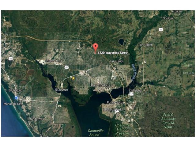 LOT 17 BLOCK 884 Waycross Street, North Port, FL 34288 (MLS #D5919200) :: Godwin Realty Group