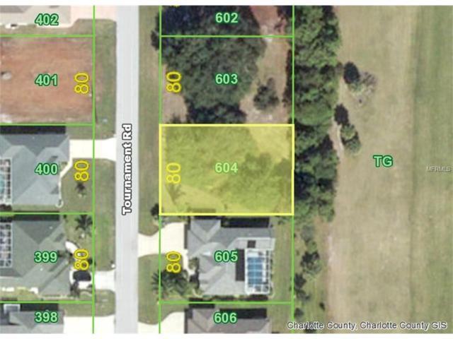 194 Tournament (Lot 604) Road, Rotonda West, FL 33947 (MLS #D5919901) :: Premium Properties Real Estate Services