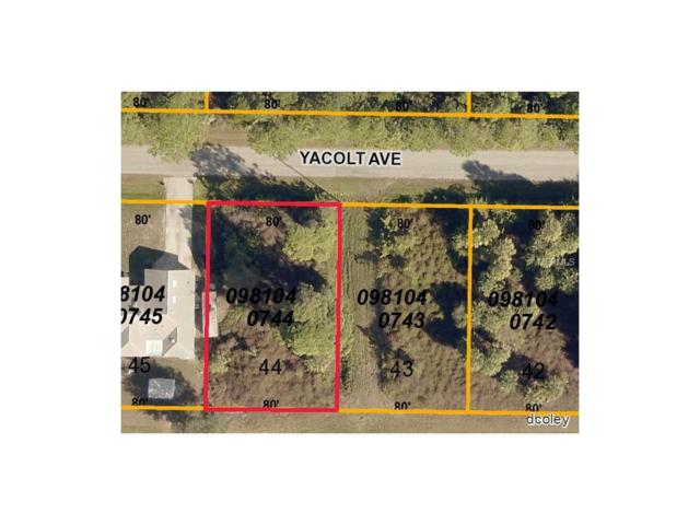 Yacolt Avenue, North Port, FL 34286 (MLS #D5920202) :: Medway Realty