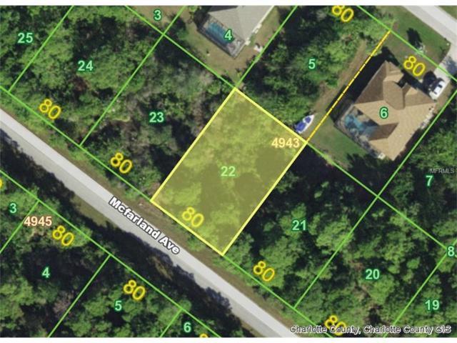 14302 Mcfarland (Lot 22) Avenue, Port Charlotte, FL 33981 (MLS #D5920220) :: The BRC Group, LLC