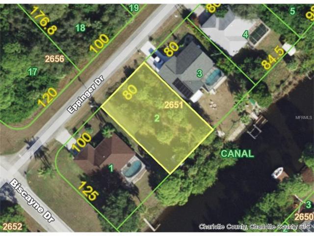1108 Eppinger (Lot 2) Drive, Port Charlotte, FL 33953 (MLS #D5920668) :: Carrington Real Estate Services