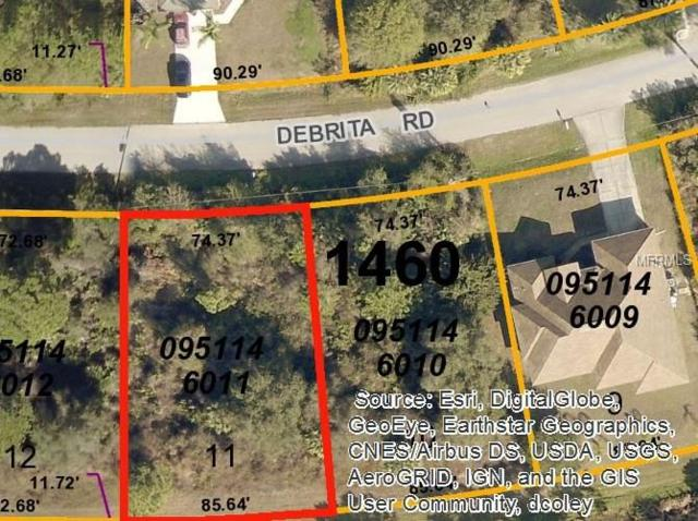 Debrita Road, North Port, FL 34291 (MLS #D5921870) :: White Sands Realty Group