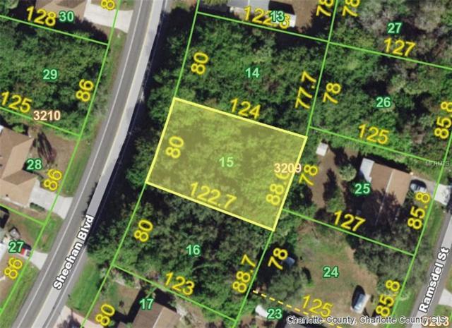 1320 Sheehan (Lot 15) Boulevard, Port Charlotte, FL 33952 (MLS #D5922639) :: The Lockhart Team