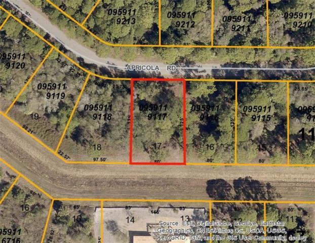 Apricola  (Lot 17) Road, North Port, FL 34286 (MLS #D5922713) :: Premium Properties Real Estate Services