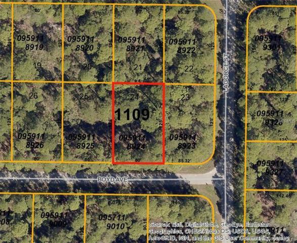 Boyd (Lot 24) Avenue, North Port, FL 34286 (MLS #D5922715) :: Premium Properties Real Estate Services