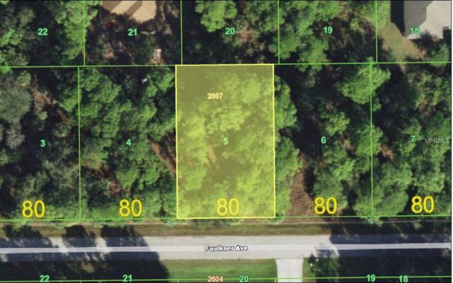 15074 Faulkner Avenue, Port Charlotte, FL 33953 (MLS #D5922824) :: Premium Properties Real Estate Services