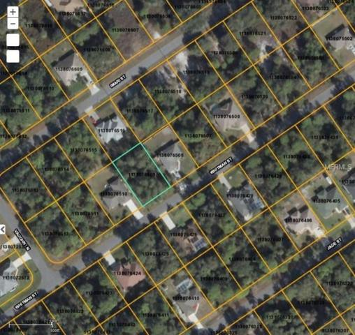 Whitman Street, North Port, FL 34288 (MLS #D5923272) :: Premium Properties Real Estate Services
