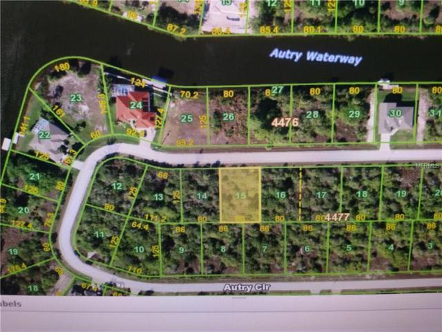 15605 Autry Circle, Port Charlotte, FL 33981 (MLS #D5923351) :: Godwin Realty Group