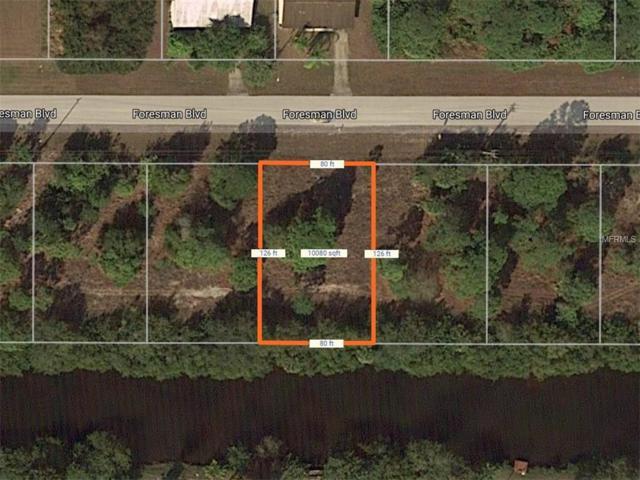 13365 Foresman Boulevard, Port Charlotte, FL 33981 (MLS #D5923587) :: The BRC Group, LLC