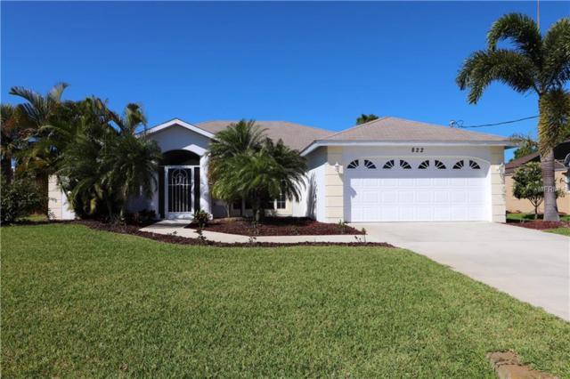 822 Rotonda Circle, Rotonda West, FL 33947 (MLS #D5923635) :: The BRC Group, LLC
