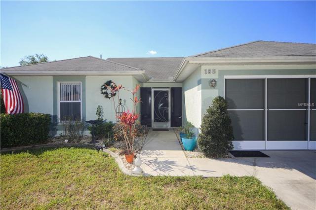 185 Cougar Way, Rotonda West, FL 33947 (MLS #D5923727) :: Godwin Realty Group