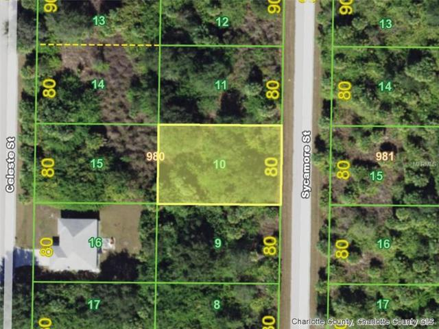 413 Sycamore (Lot 10) Street, Port Charlotte, FL 33954 (MLS #D5923913) :: The Price Group