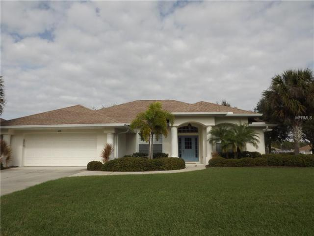 613 Rotonda Circle, Rotonda West, FL 33947 (MLS #D6100102) :: KELLER WILLIAMS CLASSIC VI