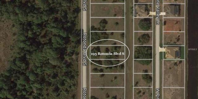 195 Rotonda Boulevard S, Rotonda West, FL 33947 (MLS #D6100109) :: G World Properties