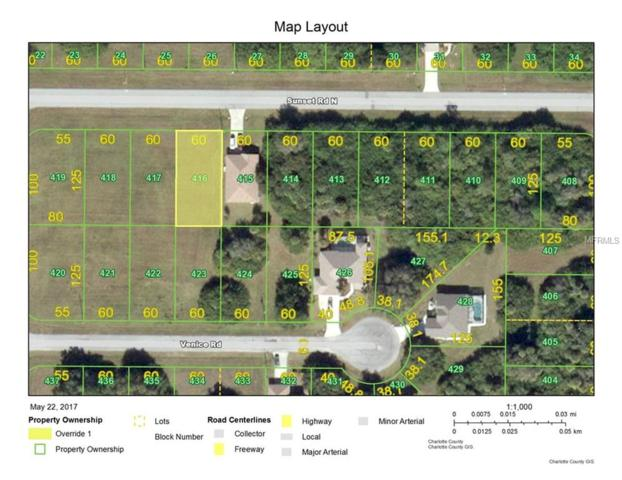 425 Sunset Road N, Rotonda West, FL 33947 (MLS #D6100129) :: Griffin Group