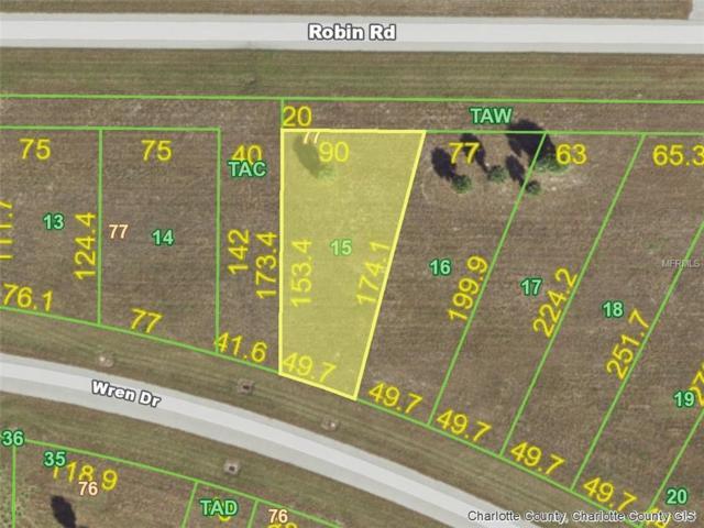 128 Wren (Lot 15 -Rotonda Meadows) Drive, Placida, FL 33946 (MLS #D6100148) :: KELLER WILLIAMS CLASSIC VI