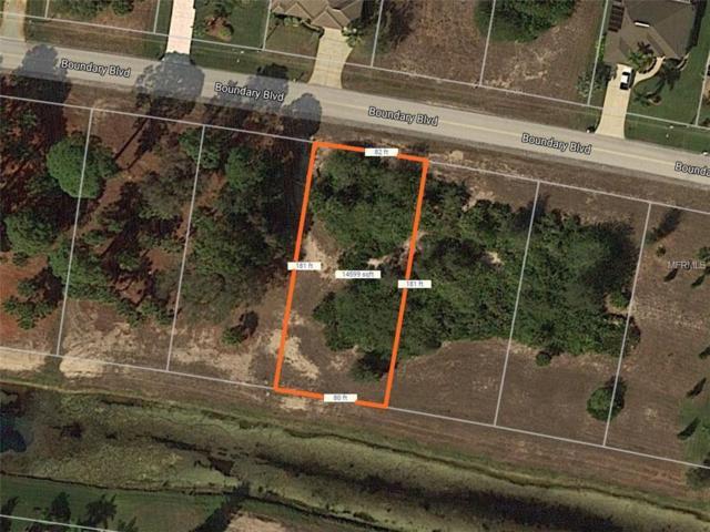 592 Boundary Boulevard, Rotonda West, FL 33947 (MLS #D6100697) :: The BRC Group, LLC