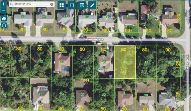 10173 Seabrook Avenue, Englewood, FL 34224 (MLS #D6100793) :: Medway Realty