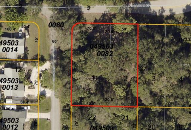 Lots 1 and 2 Gillespie Street, Englewood, FL 34223 (MLS #D6100815) :: The BRC Group, LLC